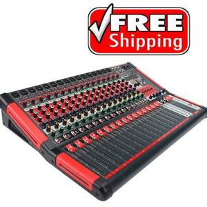 BLASTKING ULTRAMIX-16FX 16-Channel Analog Stereo Mixing Console Canada Preview