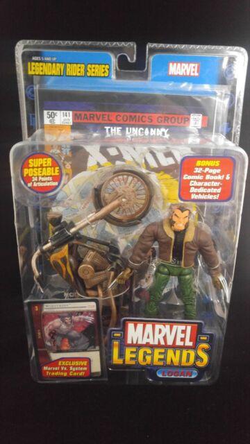 LOGAN Marvel Legends Toy Biz MIP X-Men Legendary Rider Series Wolverine 2005