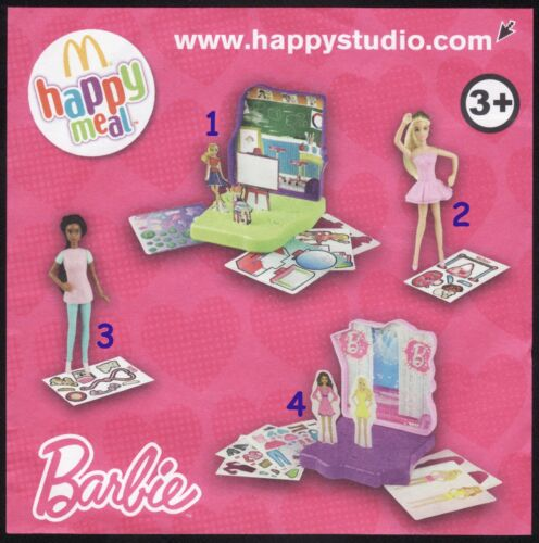 2012 Barbie Pezzi singoli McDonald/'s MC DONALD/'S HAPPY MEAL