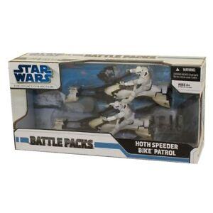 Star-Wars-Action-Figure-Set-Battle-Packs-HOTH-SPEEDER-BIKE-PATROL-2-Troopers