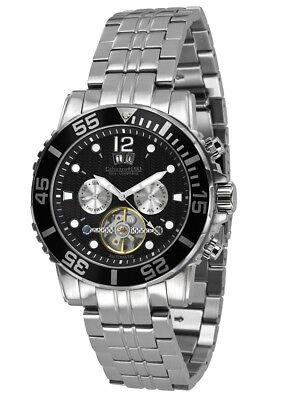 """Uhren & Schmuck Aufrichtig Sk Shop 1.229 € · Calvaneo """"sea Command Black Steel"""" 10 Atm Automatikuhr Diver Armband- & Taschenuhren"""