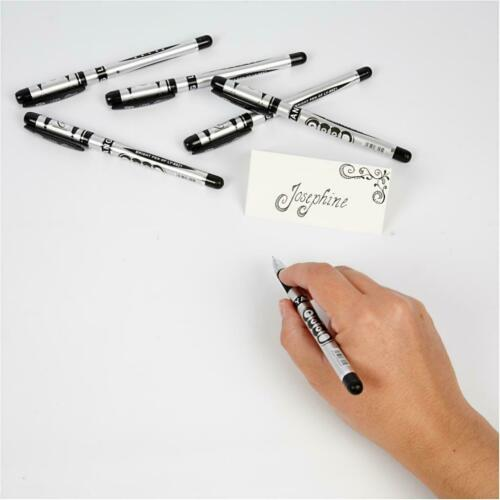 Top Grade Fine Permanent Markers 0.38 mm Line Black Colour Drawing Smear Proof
