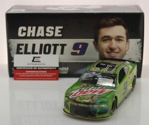 CHASE-ELLIOTT-9-2019-AUTOGRAPHED-MOUNTAIN-DEW-1-24-SCALE-IN-STOCK-FREE-SHIPPING