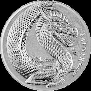 Germania-2020-5-Mark-Germania-Beasts-Geminus-Fafnir-1oz-999-9-Silver-BU-Coin