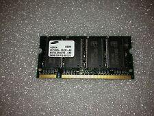 Memoria SoDimm DDR Samsung M470L3224DT0-CB0 256MB PC2100 266MHz CL2.5 200 Pin