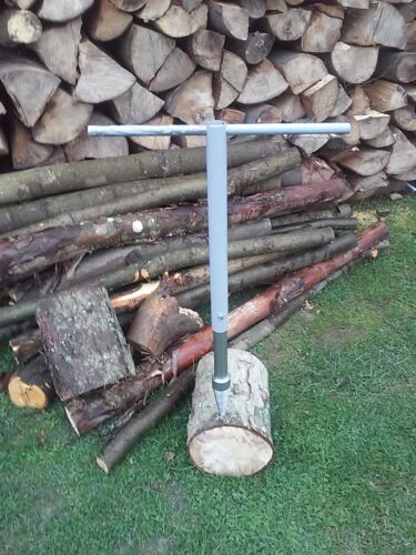 Holzspalter Kegelspalter Kegel speziell für Benzin Erdbohrer mit Handschlüssel