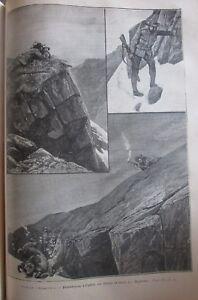 Zeitung-der-Voyages-Nr-711-von-1891-Mountain-Jagd-Bighorn-Kapitale-Europa