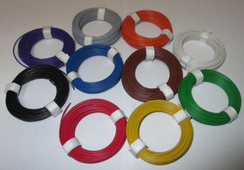 """Litze  flexibel 18x0,10   10 Ringe a 10 Meter  /""""NEU/"""" 0,1195€//m"""