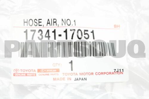 AIR NO.1 17341-17051 1734117051 Genuine Toyota HOSE
