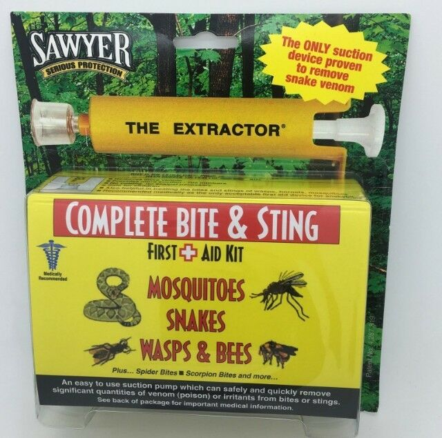 4 x SAWYER COMPLETE VENOM EXTRACTOR FIRST AID -  Combo (x4)  more affordable