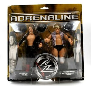 WWE-Adrenaline-Series-18-Lance-Cade-amp-Trevor-Murdoch-Action-Figur-Set