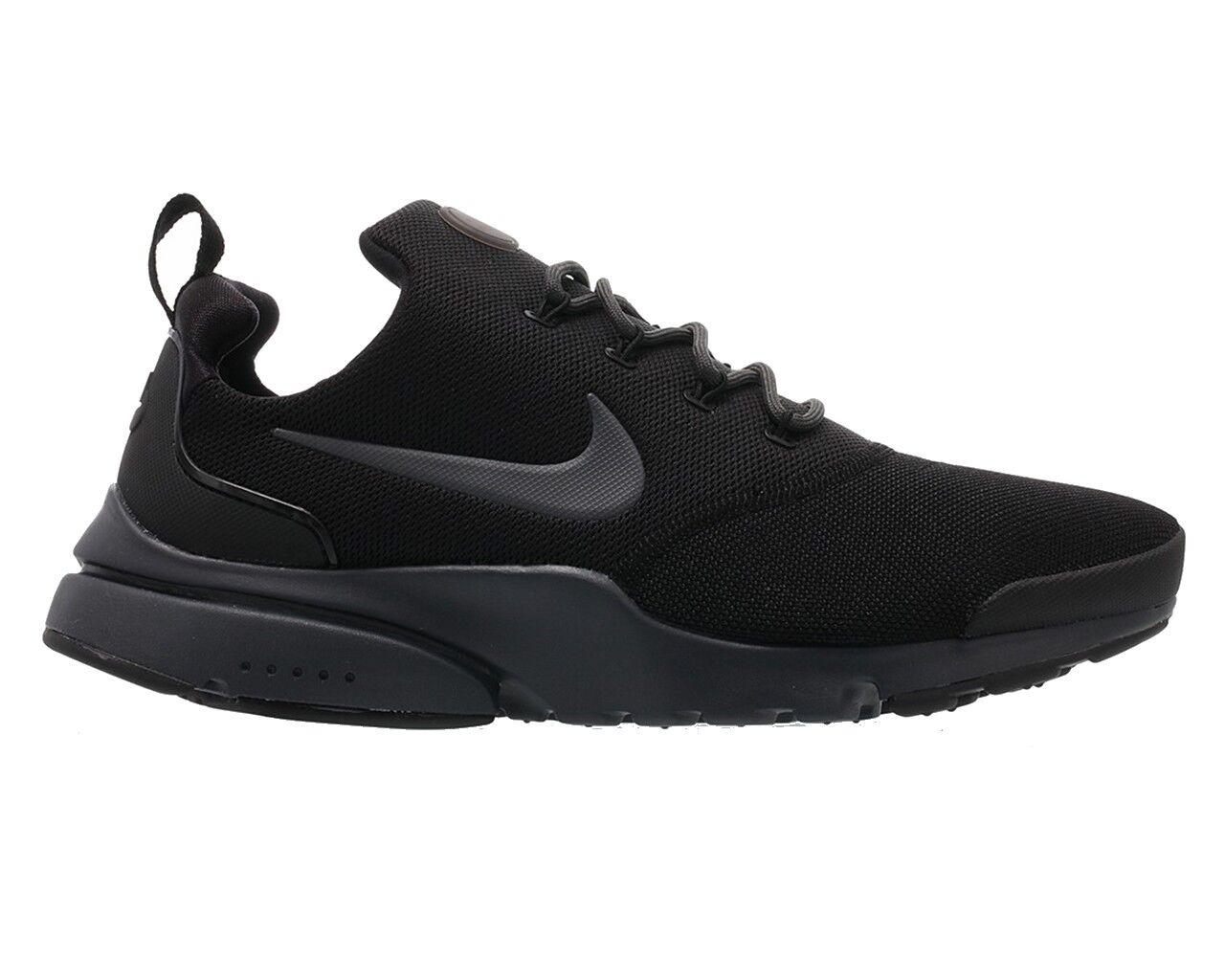 Nike PRESTO FLY 908019 008 Black Grey Mens Trainers