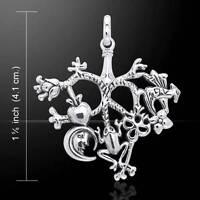 Cimaruta Style Sterling Silver - In The Italian Folk Tradition