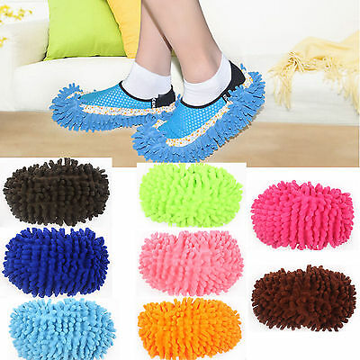 New Home Multi Functional Mop Shoes Dust Collector Floor Cleaner Slippers Hot