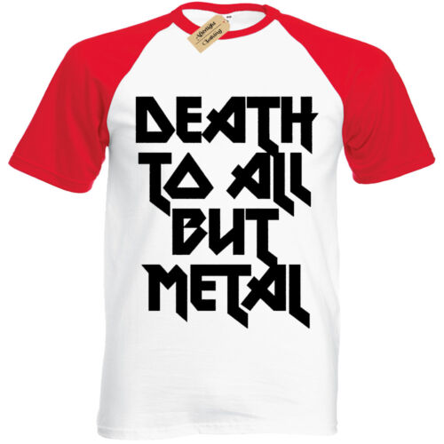 DEATH TO ALL BUT METAL Mens T Shirt S-3XL Steel Panther Rock baseball