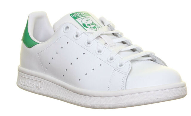 adidas Stan Smith J SNEAKERS White green M20605 38 White