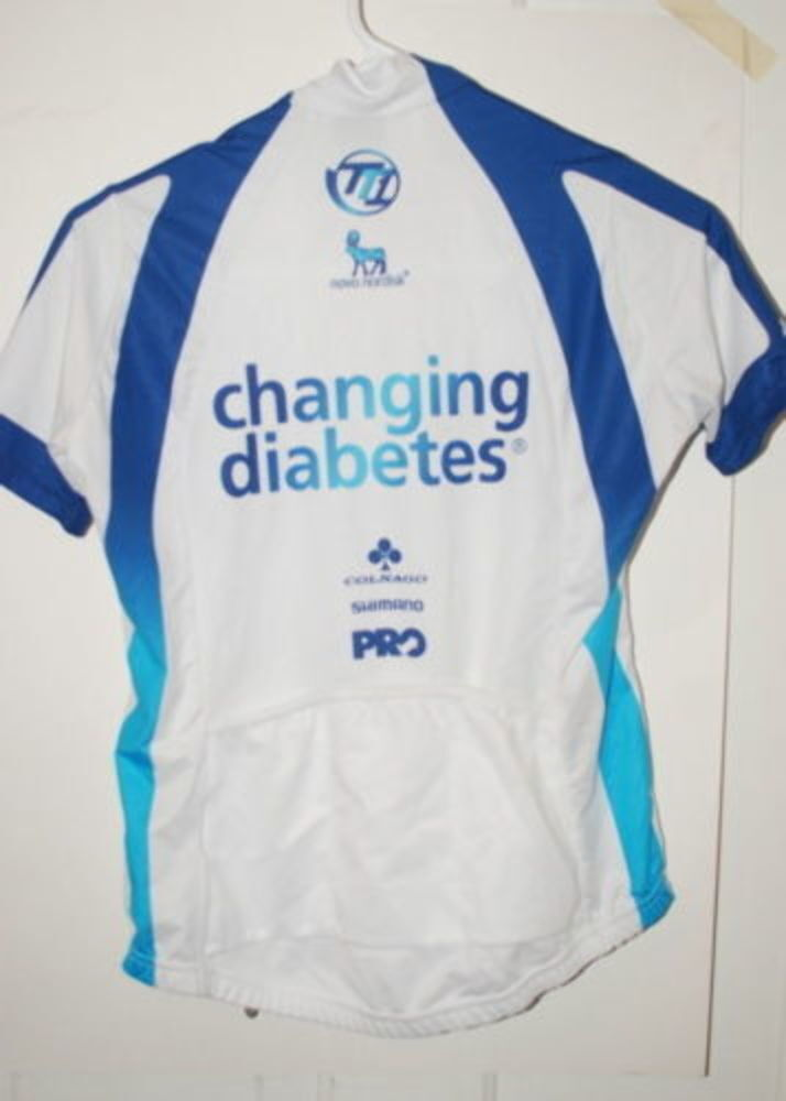 Nalini Novo Nordisk Nordisk Nordisk Pro Cycling Team Damenschuhe cycling SS Jersey Small 58ae12