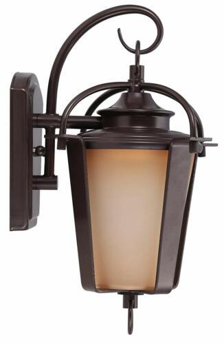 2PK Oil Rubbed Bronze Outdoor Exterior Wall Lantern Light Fixture Sconce