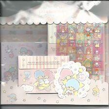 Sanrio Little Twin Stars Stationery Envelope Sticker Large Set