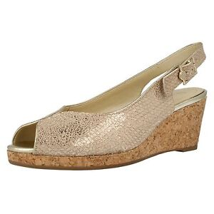 'gable' Van Wedge Sandals Ladies Dal ZUqI1