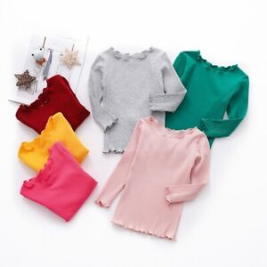 Toddler-Kids-Baby-Girl-Long-Sleeve-T-shirt-Tops-Autumn-Winter-Blouse-Pullovers