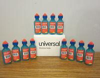 12 Universal Envelope Moistener Letter Sealer Bottles With Sponge Tip Licker