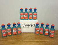 12 Universal Envelope Moistener Letter Sealer Bottles With Sponge Tip Licker