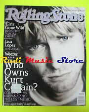 ROLLING STONE USA MAGAZINE 897/2002 Kurt Cobain Moby Elvis Costello  No cd