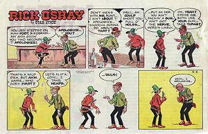 Rick-O-039-Shay-by-Stan-Lynde-half-tab-color-Sunday-comic-page-May-5-1968