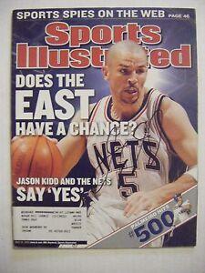 946fd49dabb Image is loading JASON-KIDD-signed-NETS-BUCKS-2003-Sports-Illustrated-