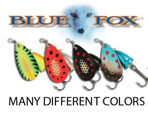 12g DIFFERENT COLORS BFSSV4 Blue Fox Super Shallow Vibrax Fishing Spinners
