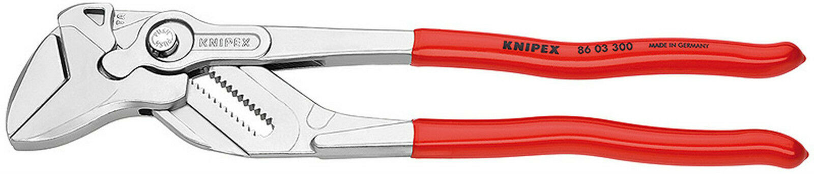 Knipex 8603-12 Plier Wrench 86 03 300 - 60mm, 2-3 8 In
