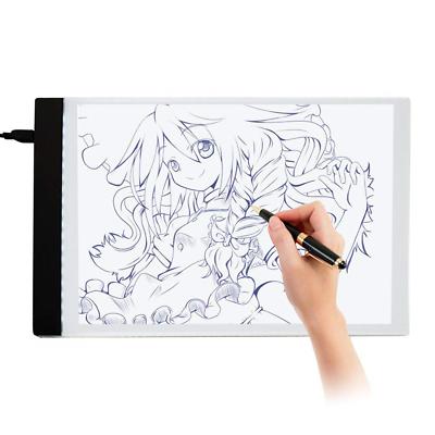 Diamond Painting A4 LED Light Box Jusoney Dimmable Light Board Kit for 5D Art