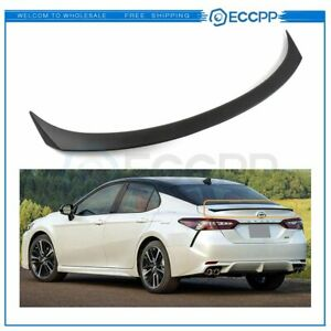 Fuel Efficiency SPOILER WING TRUNK LIP FOR 2018-up TOYOTA CAMRY LE XLE SE  HYBRID | eBayeBay
