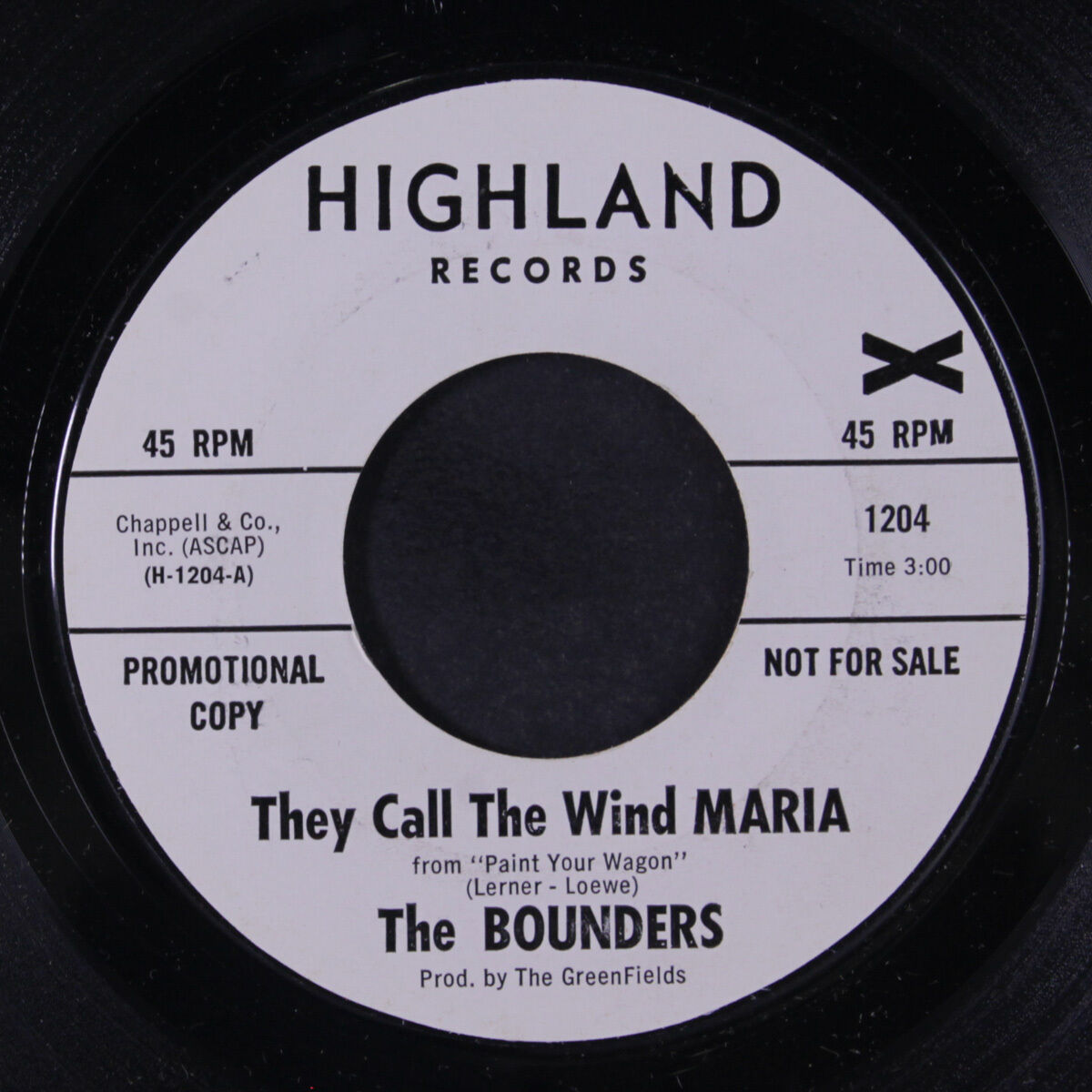 GRÜNDER: Sie nennen den Wind Maria / Mia 45 (dj) Rock & amp;Pop