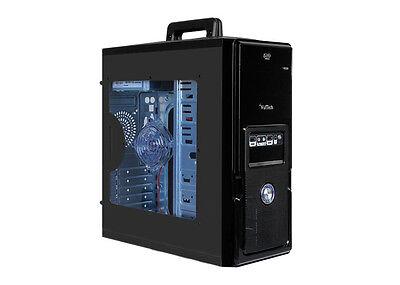 CASE PC GAMING CON KIT RAFFREDDAMENTO LIQUIDO 120mm Rgb Led DEEPCOOL 2xUSB 3.0