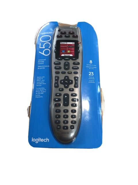 Logitech 915-000159 Harmony 650 Universal Color Screen Remote - Silver