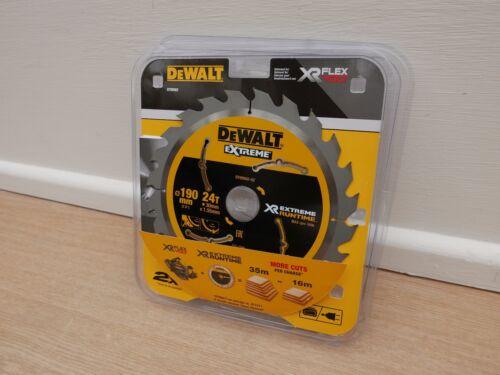 DEWALT FLEXVOLT EXTREME DT99562 190MM X 30MM 24T TCT SAW BLADE DCS575