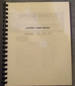 Details about Lowry Tube Organ Model CH CN FL Service Manual Schematics  Adjustments
