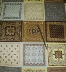 Saddle-Up-brown-yellow-bandana-panel-western-Riley-Blake-fabric