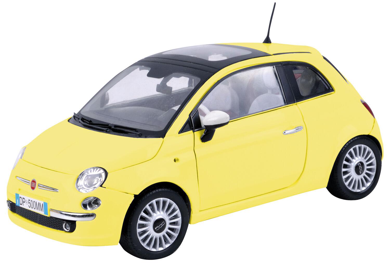 Diecast Car MotorMax (1 18) Fiat Nuova 500 (No. 79163)