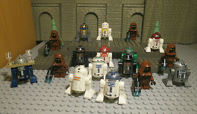 Lego® 8 Star Wars Figuren Droiden Luke Jedi Clone Imperium R2D2 Blaster L033
