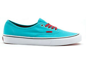 Vans AUTHENTIC Scuba Blue Chili Pepper Red White VN-0QER6LS (420 ... 62b681e3a
