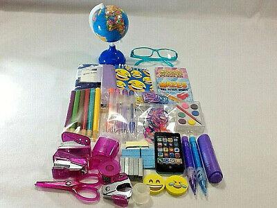 "DELUX DESK SET w// Wastebasket//School Supplies for 18/"" American Girl Doll NO DESK"