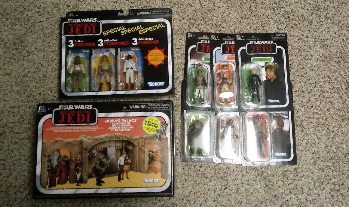 estrella guerras Return of the Jedi Vintage collezione Set  Jabba's Palace Adventure