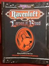 Ravenloft: Legacy of the Blood - White Wolf 15031 - NEW
