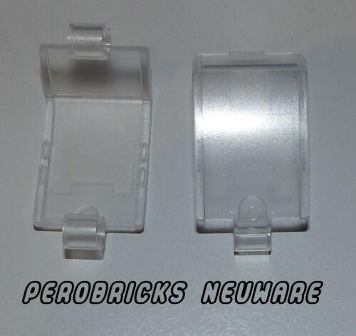 Lego Technic Technik  2x Panel Verkleidung Kotflügel Sitz 3x6 klar #24116 NEU