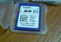 2gb Sd Memory Card 2 Gb Secure Digital 2g For Koday Easyshare 740 Easy Share