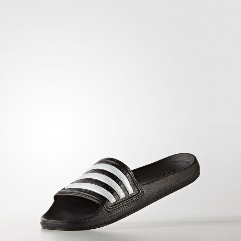 Adidas phaoxo hombre chanclas chanclas chanclas sandalias pantuflas nero   biancao aq4761 | Il colore è molto evidente  e0a053