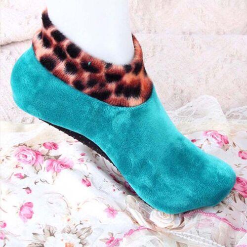Women Winter Warm Thicke Home Bed Sock Non Slip Elastic Floor Socks Slipper